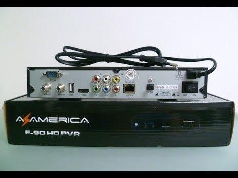 atualização azamerica F90