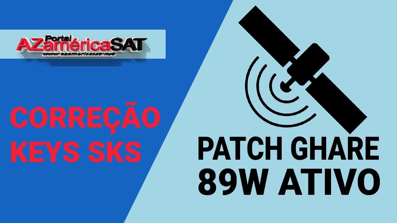 atualização Patch Gshare SKS 89w