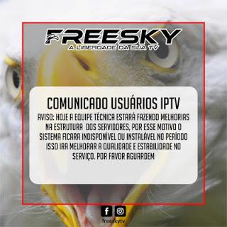 comunicado freesky 14/11/2020